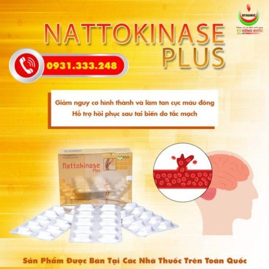 Nattokinase Plus – Phòng ngừa tai biến, đột quỵ hiệu quả